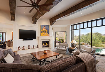 Desert Highlands Contemporary Southwest Remodel